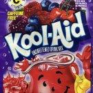 20 BERRY CHERRY FLAVOR Kool Aid Drink Mix dye Vitamin C popsicle fun