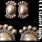 Estate Find - Vintage ART DECO Sterling Silver Earrings