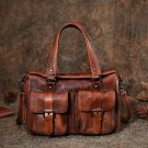 Design Genuine Handmade Leather Backpack with Multi Color Daypack For Ladies