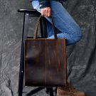 AETOO RClassic European and American style handmade leather tote bag men and women handbag