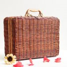 2018 Summer Beach Bamboo Bag Straw Women Handbag Handmade Woven Bag Luxury Designer