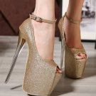 Women Night Club Party Dress Shoes Extreme Stiletto High Heel Shoes