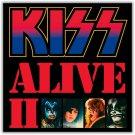 KISS Alive 2 BANNER Huge 4X4 Ft Fabric Poster Tapestry Flag Print album cover art