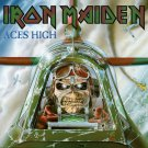 IRON MAIDEN Aces High BANNER Huge 4X4 Ft Fabric Poster Tapestry Flag Print album cover art