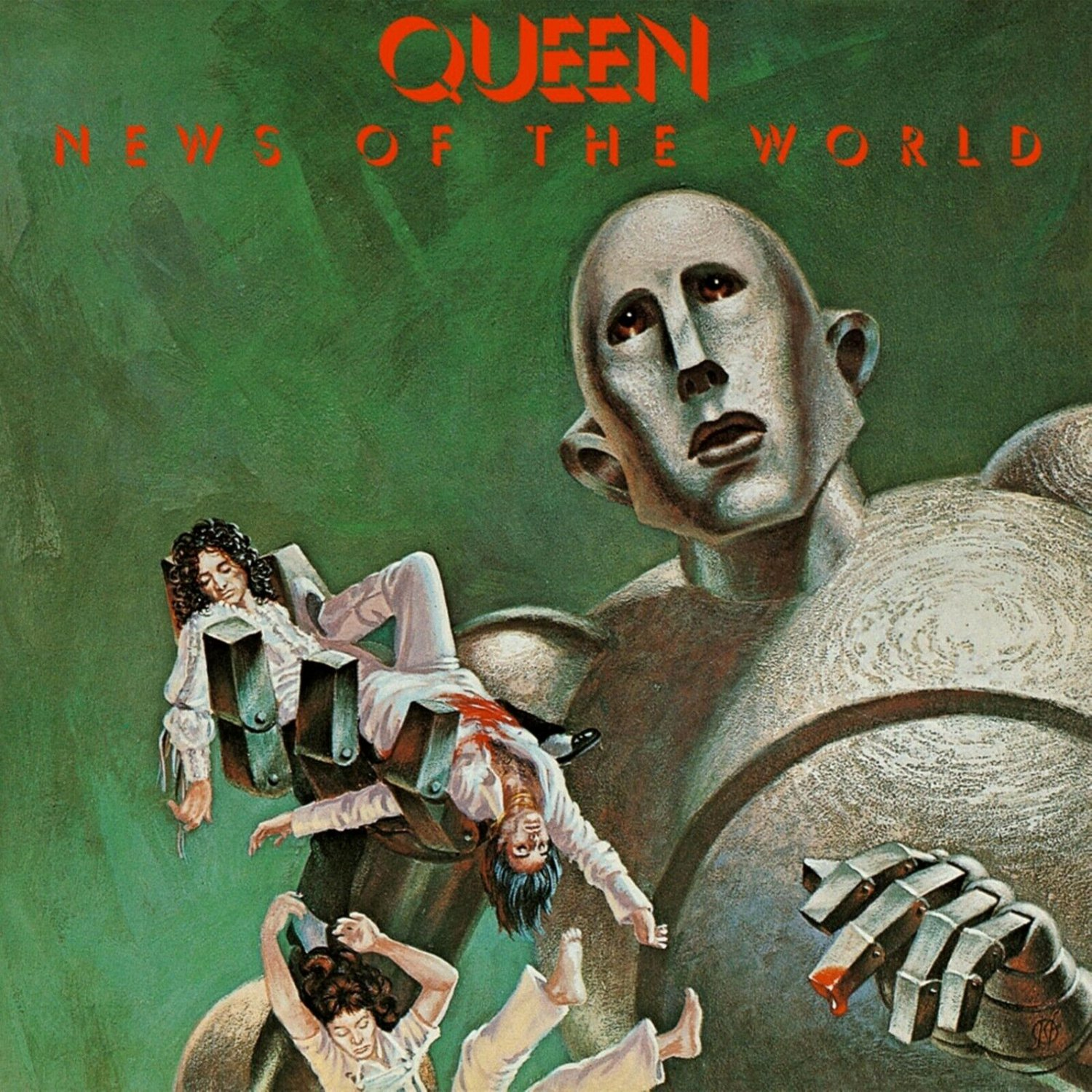 QUEEN News of the New World BANNER Huge 4X4 Ft Fabric Poster Tapestry Flag Print album cover art