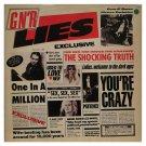 GUNS N ROSES Lies BANNER HUGE 4X4 Ft Fabric Poster Tapestry Flag Print album art