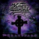 KING DIAMOND The Graveyard BANNER Huge 4X4 Ft Fabric Poster Tapestry Flag Print album cover art