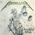 METALLICA And Justice For All BANNER Huge 4X4 Ft Fabric Poster Tapestry Flag Print album cover art
