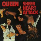 QUEEN Sheer Heart Attack Huge 4X4 Ft Fabric Poster Tapestry Flag Print album cover art