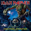 IRON MAIDEN The Final Frontier  BANNER Huge 4X4 Ft Fabric Poster Tapestry Flag Print album cover art