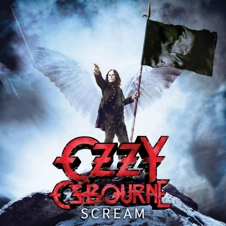 OZZY OSBOURNE Scream BANNER Huge 4X4 Ft Fabric Poster Tapestry Flag Print album cover art