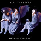 BLACK SABBATH Heaven and Hell BANNER Huge 4X4 Ft Fabric Poster Tapestry Flag Print album cover art