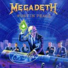 MEGADETH Rust in Peace BANNER Huge 4X4 Ft Fabric Poster Tapestry Flag Print album cover art