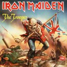IRON MAIDEN The Trooper BANNER Huge 4X4 Ft Fabric Poster Tapestry Flag Print album cover art