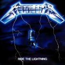 METALLICA Ride the Lightning BANNER Huge 4X4 Ft Fabric Poster Tapestry Flag Print album cover art