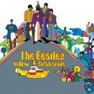 The BEATLES Yellow Submarine BANNER Huge 4X4 Ft Fabric Poster Tapestry Flag Print album cover art