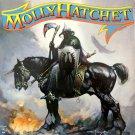 MOLLY HATCHET First Album BANNER Huge 4X4 Ft Fabric Poster Tapestry Flag Print album cover art