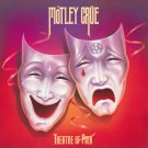 MOTLEY CRUE Theatre of Pain BANNER Huge 4X4 Ft Fabric Poster Tapestry Flag Print album cover art