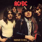 AC/DC Highway to Hell BANNER Huge 4X4 Ft Fabric Poster Tapestry Flag Print album cover art