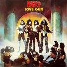 KISS Love Gun BANNER Huge 4X4 Ft Fabric Poster Tapestry Flag Print album cover art