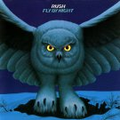 RUSH Fly By Night BANNER Huge 4X4 Ft Fabric Poster Tapestry Flag Print album art