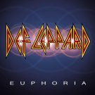 DEF LEPPARD Euphoria BANNER Huge 4X4 Ft Fabric Poster Tapestry Flag Print album cover art