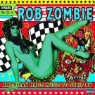 ROB ZOMBIE American Made Music To Strip By BANNER Huge 4X4 Ft Fabric Poster Flag