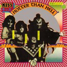 KISS Hotter than Hell BANNER Huge 4X4 Ft Fabric Poster Tapestry Flag Print album cover art