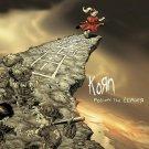 KORN Follow the Leader BANNER Huge 4X4 Ft Fabric Poster Tapestry Flag Print album cover art
