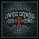 LYNYRD SKYNYRD God & Guns BANNER Huge 4X4 Ft Fabric Poster Tapestry Flag Print album cover art
