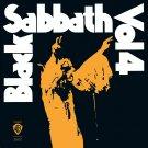 BLACK SABBATH Vol 4 BANNER Huge 4X4 Ft Fabric Poster Tapestry Flag Print album cover art