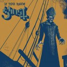 GHOST If You Have Ghost BANNER HUGE 4X4 Ft Tapestry Fabric Poster metal band art