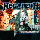 MEGADETH United Abominations BANNER Huge 4X4 Ft Fabric Poster Tapestry Flag Print album cover art