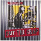 The CLASH Cut the Crap BANNER Huge 4X4 Ft Fabric Poster Tapestry Flag Print album cover art