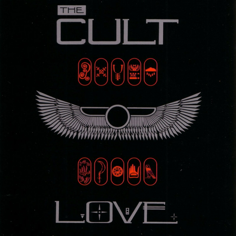 The CULT Love BANNER Huge 4X4 Ft Fabric Poster Tapestry Flag Print album cover art