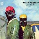 BLACK SABBATH Never Say Die BANNER Huge 4X4 Ft Fabric Poster Tapestry Flag Print album cover art