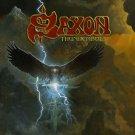 SAXON Thunderbolt BANNER Huge 4X4 Ft Fabric Poster Tapestry Flag Print album cover art
