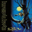 IRON MAIDEN Fear of the Dark BANNER Huge 4X4 Ft Fabric Poster Tapestry Flag Print album cover art