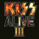 KISS Alive III BANNER Huge 4X4 Ft Fabric Poster Tapestry Flag Print album cover art 3