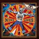 AEROSMITH Nine Lives BANNER Huge 4X4 Ft Fabric Poster Tapestry Flag Print album cover art