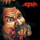 ANTHRAX Fistful of Metal BANNER Huge 4X4 Ft Fabric Poster Tapestry Flag Print album cover art