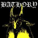 BATHORY Yellow Goat BANNER Huge 4X4 Ft Fabric Poster Tapestry Flag Print album cover art