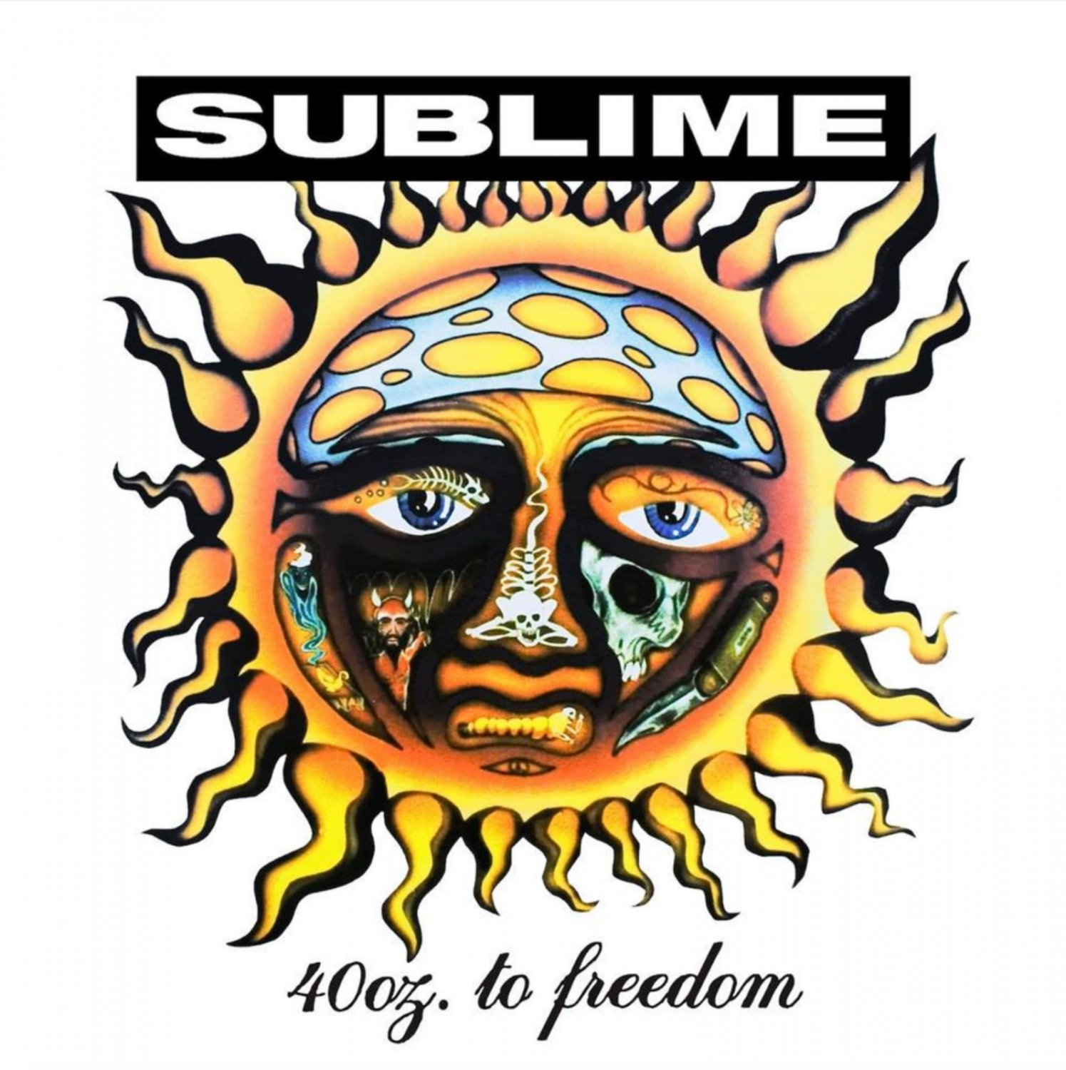 SUBLIME 40 oz to Freedom BANNER Huge 4X4 Ft Fabric Poster Tapestry Flag Print album cover art