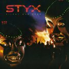 STYX Kilroy Was Here BANNER Huge 4X4 Ft Fabric Poster Tapestry Flag Print album cover art