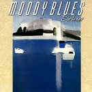 MOODY BLUES Sur la Mer BANNER Huge 4X4 Ft Fabric Poster Tapestry Flag Print album cover art