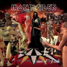 IRON MAIDEN Dance of Death BANNER Huge 4X4 Ft Fabric Poster Tapestry Flag Print album cover art