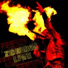 ROB ZOMBIE Zombie Live BANNER Huge 4X4 Ft Fabric Poster Tapestry Flag Print album cover art