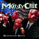 MOTLEY CRUE Generation Swine BANNER Huge 4X4 Ft Fabric Poster Tapestry Flag Print album cover art