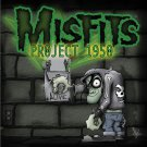 MISFITS Project 1950 BANNER Huge 4X4 Ft Fabric Poster Tapestry Flag Print album cover art