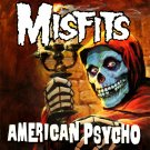 MISFITS American Psycho BANNER Huge 4X4 Ft Fabric Poster Tapestry Flag Print album cover art